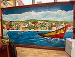 Los Placeres Restaurant Mural