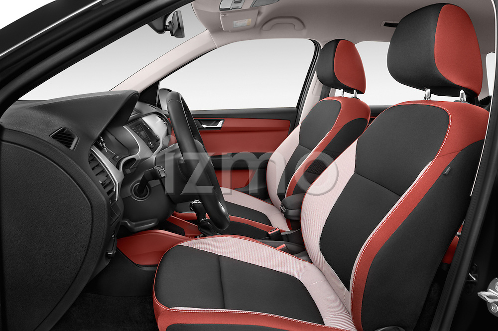 Front seat view of a 2015 Skoda Fabia Ambition 5 Door Wagon Front Seat car photos