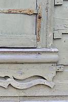 Hausdetail  in Kuldiga, Lettland, Europa