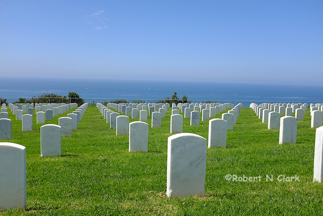 For Rosecrans Military Cemetary on Point Loma, San Diego, CA