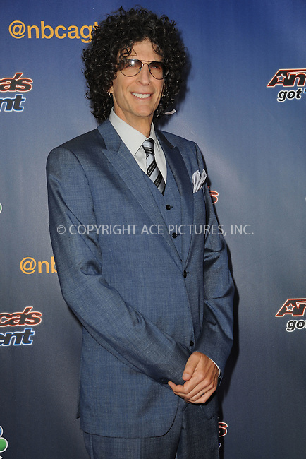 WWW.ACEPIXS.COM<br /> July 29, 2014 New York City<br /> <br /> Howard Stern attending the 'America's Got Talent' red carpet arrivals at Radio City Music Hall in New York City on July 29, 2014.<br /> <br /> By Line: Kristin Callahan/ACE Pictures<br /> ACE Pictures, Inc.<br /> tel: 646 769 0430<br /> Email: info@acepixs.com<br /> www.acepixs.com<br /> Copyright:<br /> Kristin Callahan/ACE Pictures