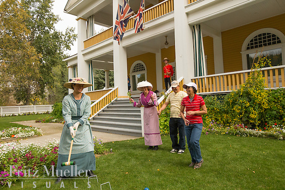 Commissioner's Residence in Dawson City, Yukon