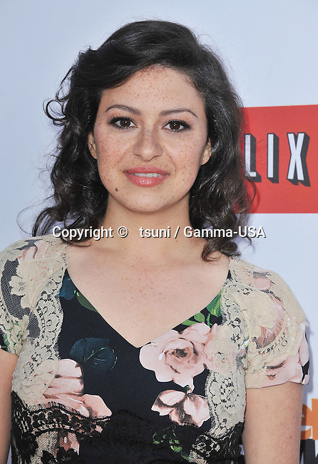 Alia Shawkat   arriving at the Arrested Development Premiere at the TCL Chinese Theatre In Los Angeles.