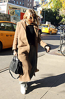 www.acepixs.com<br /> <br /> October 31 2017, New York City<br /> <br /> Actress Sienna Miller attempts to go incognito as she arrives at a downtown hotel on October 31 2017 in New York City<br /> <br /> By Line: Philip Vaughan/ACE Pictures<br /> <br /> <br /> ACE Pictures Inc<br /> Tel: 6467670430<br /> Email: info@acepixs.com<br /> www.acepixs.com