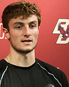 Chris Calnan (BC - 11) - The Boston College Eagles defeated the visiting Providence College Friars 3-1 on Friday, October 28, 2016, at Kelley Rink in Conte Forum in Chestnut Hill, Massachusetts.The Boston College Eagles defeated the visiting Providence College Friars 3-1 on Friday, October 28, 2016, at Kelley Rink in Conte Forum in Chestnut Hill, Massachusetts.