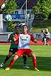 05.07.2017, Illerstadion, Kempten, GER, FSP, FC Augsburg vs FC Wacker Innsbruck, im Bild Simon Pirkl (Innsbruck #26), Julian G&uuml;nther-Schmidt (Augsburg #33)<br /> <br /> Foto &copy; nordphoto / Hafner