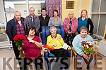 Noreen Kelly front centre a resident of St Anne's Hospital Cahersiveen celebrated her 81st birthday on Saturday with family and friends.