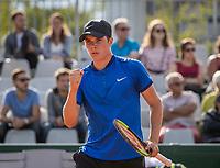 Paris, France, 5 June, 2017, Tennis, French Open, Roland Garros,  Junior boys: Ryan Nijboer (NED)<br /> Photo: Henk Koster/tennisimages.com