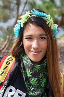 Miss Kiyana, Hempfest Seattle 2016, WA, USA.