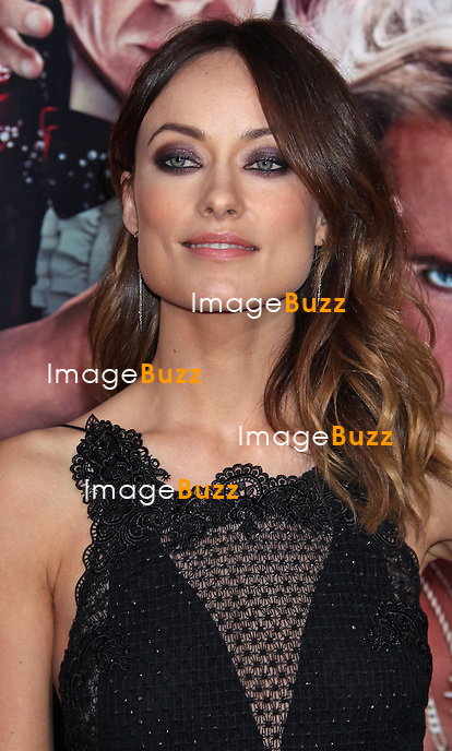 Olivia Wilde attends The Incredible Burt Wonderstone film premiere at The Chinese Theatre in Hollywood, on March 11, 2013.