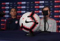 Cary, NC - October 3, 2018:  The USWNT trains in preparation for the group stage of the 2018 CONCACAF Women's Championship at WakeMed Soccer Park.