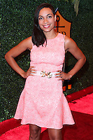PACIFIC PALISADES, CA, USA - OCTOBER 11: Rosario Dawson arrives at the 5th Annual Veuve Clicquot Polo Classic held at Will Rogers State Historic Park on October 11, 2014 in Pacific Palisades, California, United States. (Photo by Xavier Collin/Celebrity Monitor)