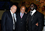 WEST HOLLYWOOD, CA. - February 08: Doug Morris, Chairman and CEO of Universal Music Group, Berry Gordy, Founder of Motown Records and Recording Artist Akon attend the Universal Music Group Chairman Doug Morris' Grammy Awards Viewing Dinner at The Palm on February 8, 2009 in West Hollywood, California.