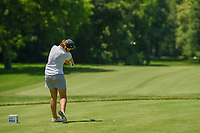 Juli Inkster (USA) watches her tee shot on 11 during round 2 of the 2018 KPMG Women's PGA Championship, Kemper Lakes Golf Club, at Kildeer, Illinois, USA. 6/29/2018.<br /> Picture: Golffile | Ken Murray<br /> <br /> All photo usage must carry mandatory copyright credit (© Golffile | Ken Murray)