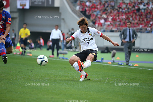 Tomoya Ugajin (Reds), OCTOBER 24, 2015 - Football / Soccer : 2015 J1 League 2nd stage match between F.C.Tokyo 3-4 Urawa Red Diamonds at Ajinomoto Stadium in Tokyo, Japan. (Photo by Hitoshi Mochizuki/AFLO)