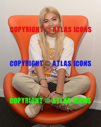 HOLLYWOOD, FL -  MARCH 26: Hayley Kiyoko poses for a portrait at radio station Hits 97.3 Live on March 26, 2018 in Hollywood, Florida. Photo by Larry Marano © 2018
