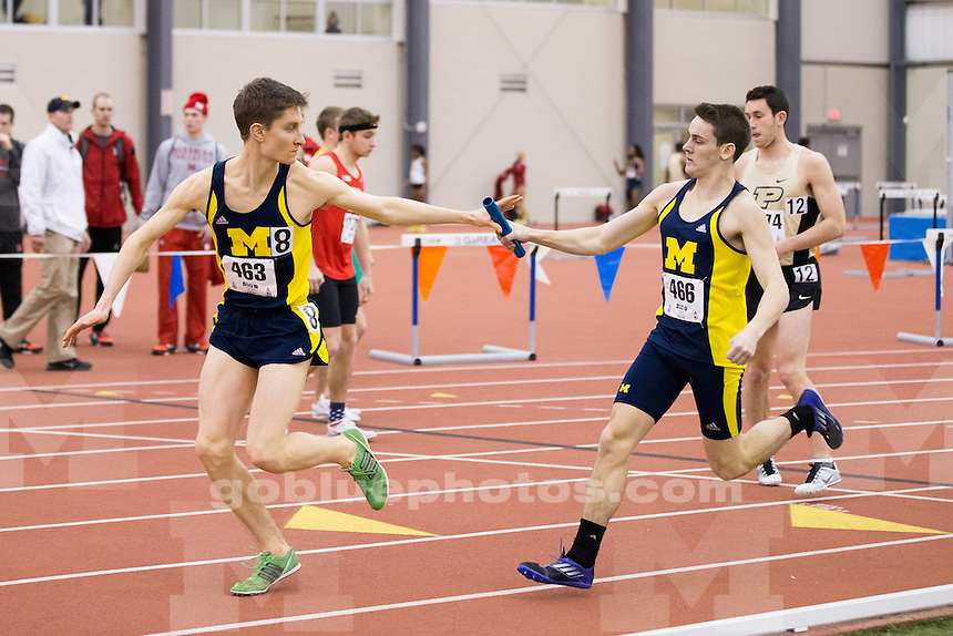 2/27/2015 Men's track and field and Big Ten Indoor Track and Field Championships.