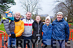 Attending the Tralee Parkrun&rsquo;s 3rd birthday run in the Tralee town park on Saturday morning last.<br /> L-r, Ryan McDaid, Colm Lynch, Gary Moriarty, Francis Quinn, Madeline Brosnan and Denis Brosnan.