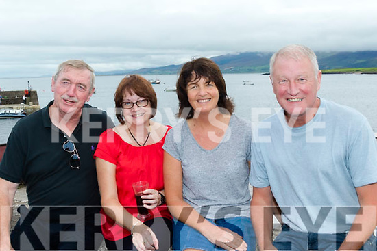 Driving Fun<br /> ---------------<br /> L-R Fintan Foley&amp;Trish Tagney from Tralee with Gemma&amp;Jim Hannon from Listowel enjoying the Steer to the Pier at Brandon last Sunday in aid of the Ray of Sunshine foundation charity group.