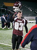 Orchard Park Quakers varsity football against the Binghamton Patriots during the NYSPHSAA State Championship Semifinals at PAETEC Park on November 23, 2008 in Rochester, New York.  (Copyright Mike Janes Photography)