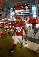 Oct. 16, 2006; Glendale, AZ, USA; Arizona Cardinals cornerback (25) Eric Green against the Chicago Bears at University of Phoenix Stadium in Glendale, AZ. Mandatory Credit: Mark J. Rebilas