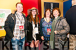 Joe Porter, Bridgit Quinn, Mairead De Staic and Annette Cremin (Dingle) enjoying the Dingle Film Festival over the weekend.