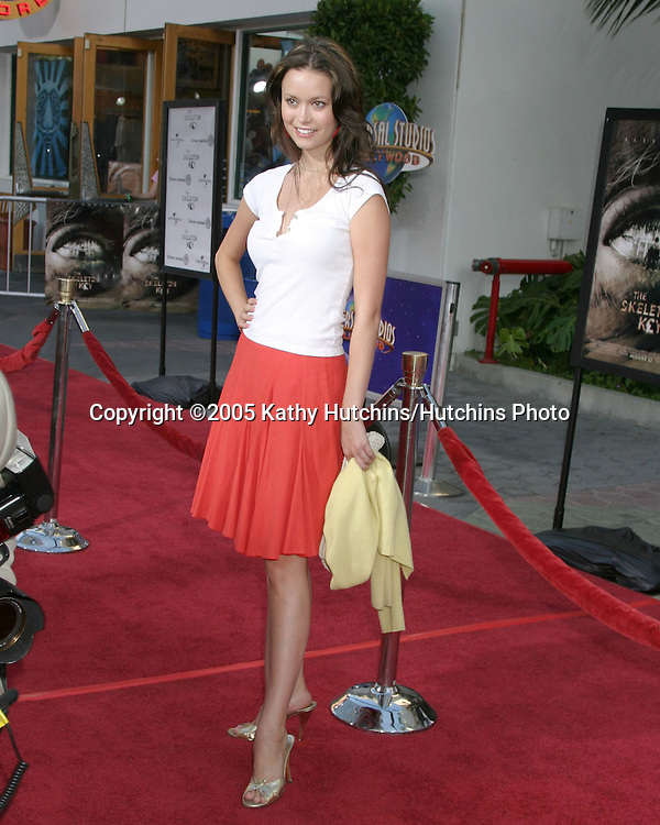 "Summer Glau.Premiere of ""The Skeleton Key"".Universal City Walk.Los Angeles, CA.August 2, 2005.©2005 Kathy Hutchins/Hutchins Photo..."