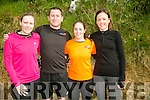 Margaret Lacey, Eddie Lacey, Mags Lacey and Catriona Ross at the BWildered Challenge in Ballymacelligott on Saturday