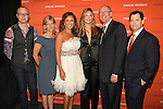 Todd Conover, Ann Clarke, Vanessa Williams, Julie & Jim Boeheim, and Frank Bisignano at the Syracuse University 2011 Fashion Show, at One Chase Plaza, May 19 2011.