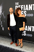 "LOS ANGELES - JUN 22:  Eric Alexander-Hughes, Stevvi Alexander at ""The Defiant Ones"" HBO Premiere Screening at the Paramount Theater on June 22, 2017 in Los Angeles, CA"