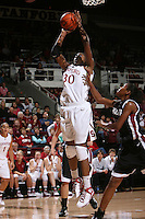 STANFORD, CA - NOVEMBER 1:  Nnemkadi Ogwumike of the Stanford Cardinal during Stanford's 123-39 exhibition win against Chico State on November 1, 2008 at Maples Pavilion in Stanford, California.