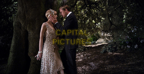 CAREY MULLIGAN &amp; LEONARDO DiCAPRIO<br /> in The Great Gatsby (2013) <br /> *Filmstill - Editorial Use Only*<br /> CAP/FB<br /> Supplied by Capital Pictures