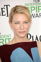 Cate Blanchett<br /> at the 2014 Film Independent Spirit Awards Arrivals, Santa Monica Beach, Santa Monica, CA 03-01-14<br /> David Edwards/Dailyceleb.com 818-249-4998