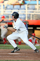 July 11th 2008:  Kevin Mattison of the Jamestown Jammers, Class-A affiliate of the Florida Marlins, during a game at Russell Diethrick Park in Jamestown, NY.  Photo by:  Mike Janes/Four Seam Images