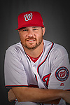 22 February 2019: Washington Nationals pitcher Scott Copeland poses for his Photo Day portrait at the Ballpark of the Palm Beaches in West Palm Beach, Florida. Mandatory Credit: Ed Wolfstein Photo *** RAW (NEF) Image File Available ***