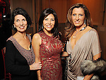 From left: Pamela Fiori, Ericka Bagwell and Caroline Kenney at a UNICEF fundraiser at the home of Becca Cason Thrash Thursday Jan. 14,2010.(Dave Rossman/For the Chronicle)