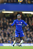 5th November 2017, Stamford Bridge, London, England; EPL Premier League football, Chelsea versus Manchester United; Tiemoue Bakayoko of Chelsea looks to bring down the high ball on his chest
