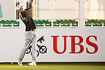 Brett Munson of USA tees off the first hole during the 58th UBS Hong Kong Open as part of the European Tour on 08 December 2016, at the Hong Kong Golf Club, Fanling, Hong Kong, China. Photo by Marcio Rodrigo Machado / Power Sport Images