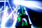 MASTODON - rhythm guitarist Bill Kelliher -  performing live at the Academy in Brixton London UK - 25 Jan 2019.  Photo credit: Zaine Lewis/IconicPix