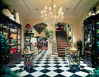 Ralph Lauren, Rustic, relaxed, style, cozy retail store interior