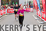 Brid Nolan, 1370 and Niall Mathews, 1311 who took part in the 2015 Kerry's Eye Tralee International Marathon Tralee on Sunday.