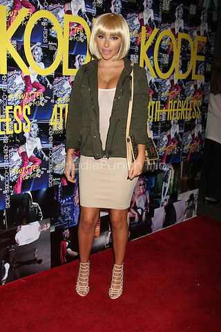 LOS ANGELES - SEPTEMBER 23: Chantel Jeffries at the KODE Magazine October 2015 Issue Party at the The Well on September 23, 2015 in Los Angeles, CA . Credit: David Edwards/MediaPunch