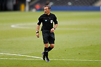 4th July 2020; Craven Cottage, London, England; English Championship Football, Fulham versus Birmingham City; Referee Keith Stroud