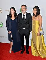 SANTA MONICA, USA. January 18, 2020: Todd Phillips, Emma Tillinger Koskoff & Zazi Beetz at the 2020 Producers Guild Awards at the Hollywood Palladium.<br /> Picture: Paul Smith/Featureflash