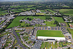 An aerial view of Fitzgerald Stadium in Killarney in County Kerry<br /> Photo Don MacMonagle<br /> e: info@macmonagle.com