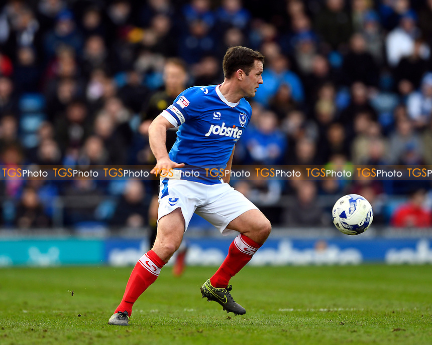 Michael Doyle of Portsmouth during Portsmouth vs Crewe Alexandra, Sky Bet EFL League 2 Football at Fratton Park on 4th March 2017