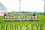 Mid Kerry panel at the Keanes Supervalu Minor Football Championship against Austin Stacks at Connolly Park on Friday