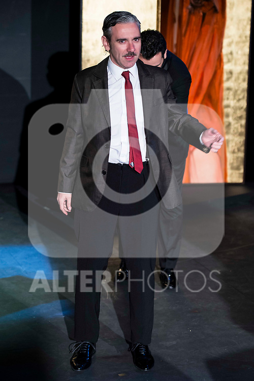 "Jose Emilio Vera during the theater play of ""Addio del Passato"" at Fernan Gomez Theater in Madrid. March 15, 2017. (ALTERPHOTOS/Borja B.Hojas)"