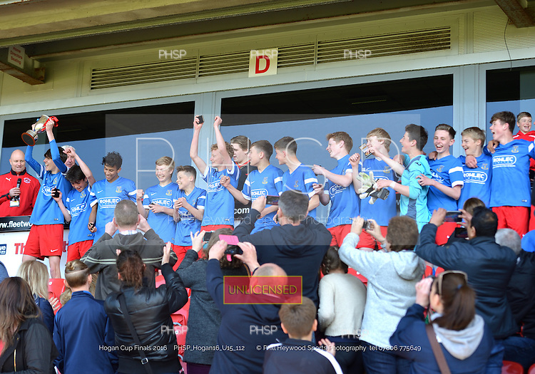 """15/05/2016 Hogan Cup Final 2016 U-15's Clifton Rangers v Kirkham<br /> To order a print click on """"Add to Cart"""" Size and pricing options will be displayed"""