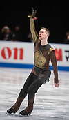 24th March 2018, Mediolanum Forum, Milan, Italy;  Paul FENTZ (GER) during the ISU World Figure Skating Championships, Men Free Skating at Mediolanum Forum in Milan, Italy